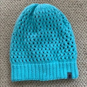 NorthFace Blue Knitted Beanie